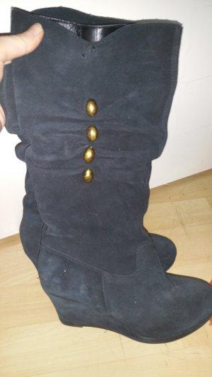 Tamaris Keilstiefel schwarz Gr. 38