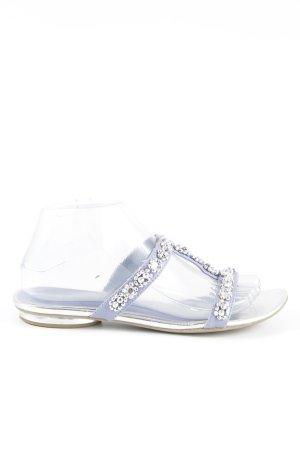 Tamaris Comfortabele sandalen paars casual uitstraling