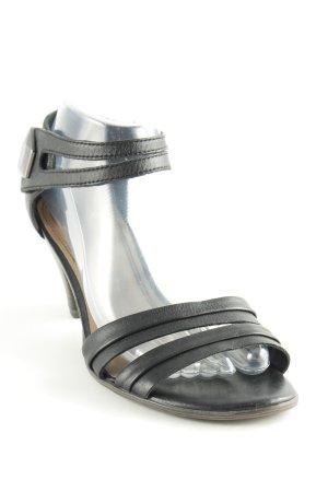 Tamaris Komfort-Sandalen schwarz schlichter Stil