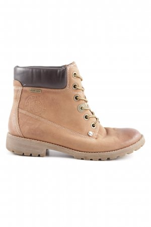 Tamaris Short Boots light brown-black casual look