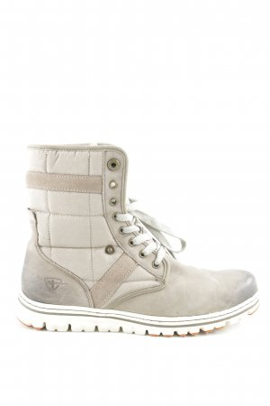 Tamaris Short Boots light grey-grey brown casual look