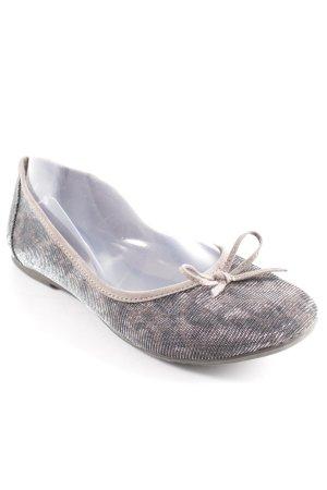 Tamaris Patent Leather Ballerinas animal pattern extravagant style