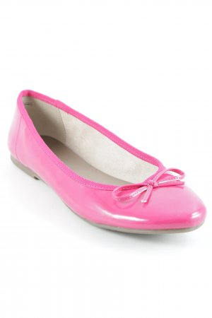 Tamaris Lackballerinas magenta Romantik-Look