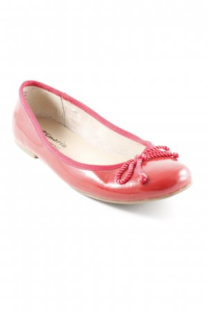Tamaris Patent Leather Ballerinas red classic style
