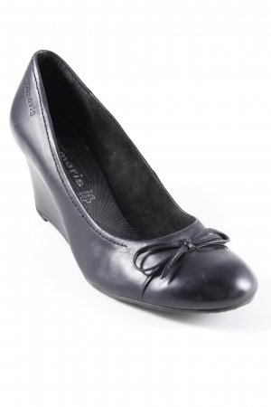 Tamaris Patent Leather Ballerinas black casual look