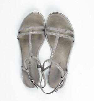 Tamaris Sandalo con cinturino argento