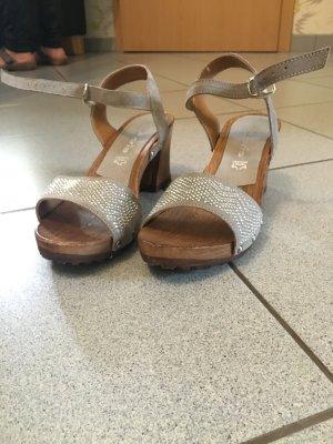 Tamaris Leder Sandalette Größe 38