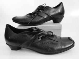 Tamaris Chaussures à lacets noir cuir
