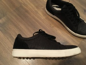 Tamaris Leder sneaker schwarz 38