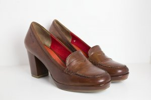 Tamaris Chaussure Oxford multicolore cuir
