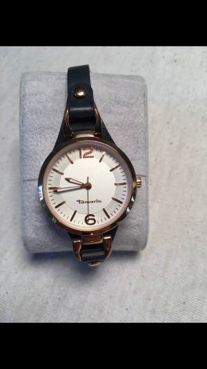 Tamaris Watch With Leather Strap multicolored