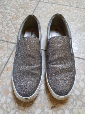 Tamaris Babouche argenté-gris faux cuir