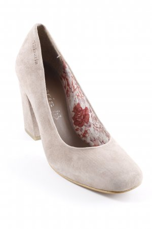 Tamaris Chaussures Mary Jane gris brun-rose style simple