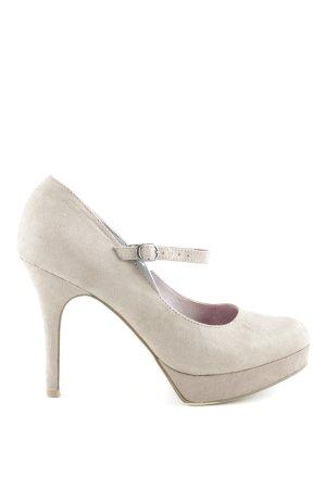 Tamaris Mary Jane Pumps beige Elegant