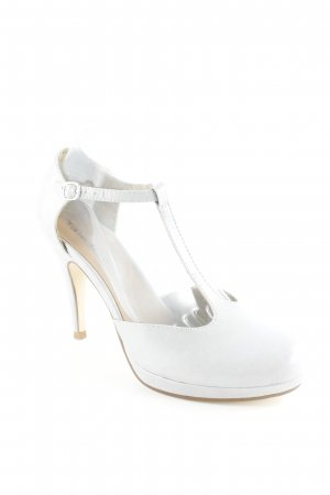 Tamaris Mary Jane Pumps light grey dandy style