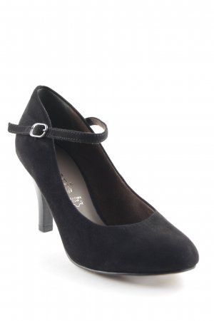 Tamaris Mary Jane Pumps black business style