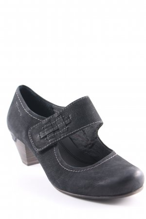 Tamaris Mary Jane Pumps schwarz Casual-Look