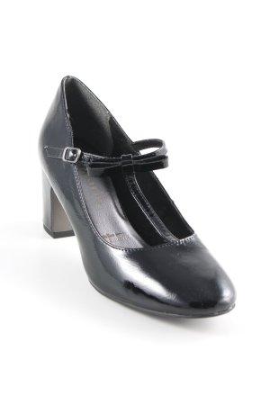Tamaris Mary Jane pumps zwart elegant