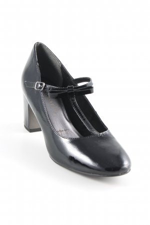 Tamaris Mary Jane Pumps schwarz Elegant