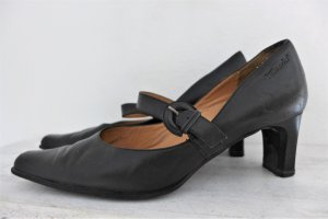Tamaris Escarpins Mary Jane noir cuir