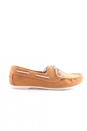 Tamaris Moccasins light orange casual look