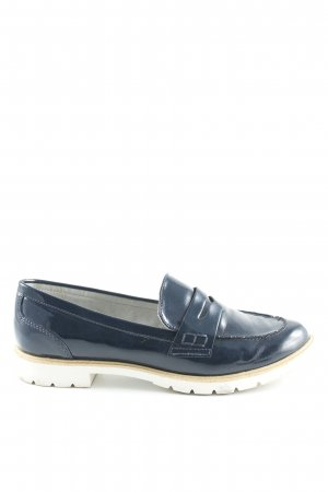 Tamaris Moccasins dark blue-white casual look