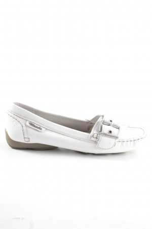 Tamaris Moccasins white casual look