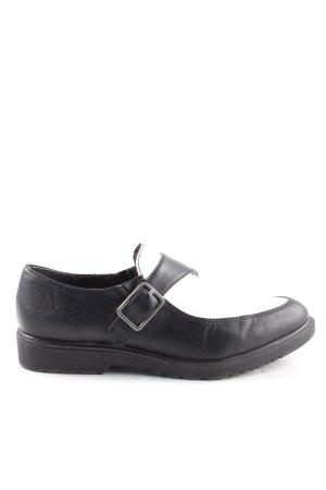 Tamaris Scarpa monk strap nero stile casual