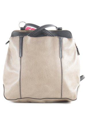 Tamaris Laptop rugzak beige-zwart casual uitstraling