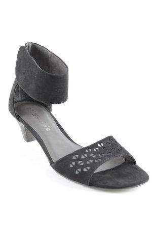 Tamaris Outdoor Sandals black casual look