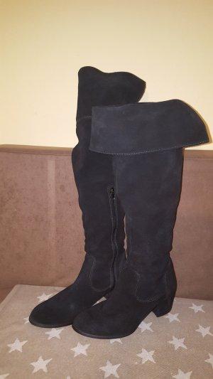 Tamaris Cuissarde noir cuir