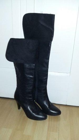 Tamaris Overknee - Stiefel - black