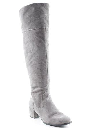 Tamaris Overknees grau klassischer Stil