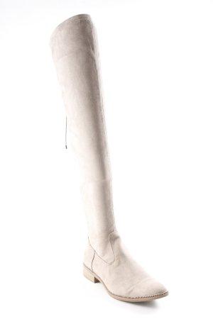 Tamaris Overknees graubraun klassischer Stil 1c63844e638