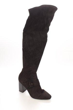 Tamaris Overknees schwarz klassischer Stil