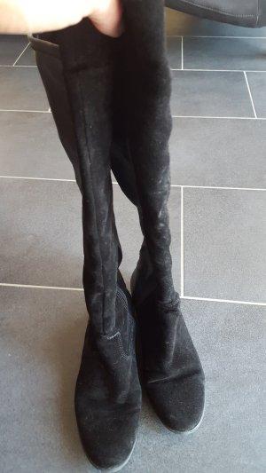 Tamaris overknees Schwarz Stiefel