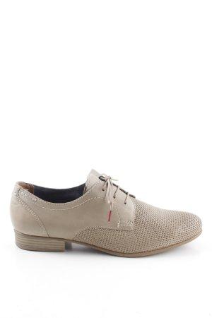 Tamaris Zapatos estilo Oxford blanco puro estilo «business»