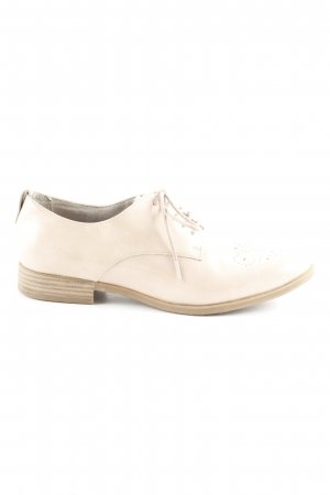Tamaris Zapatos estilo Oxford nude estilo «business»