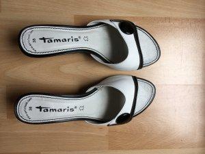 Tamaris Pantoletten Gr. 38 wie neu