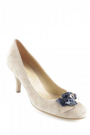 Tamaris Peeptoe Pumps khaki Schmuck-Applikation