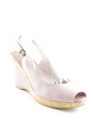 Tamaris Platform High-Heeled Sandal mauve-light brown street-fashion look
