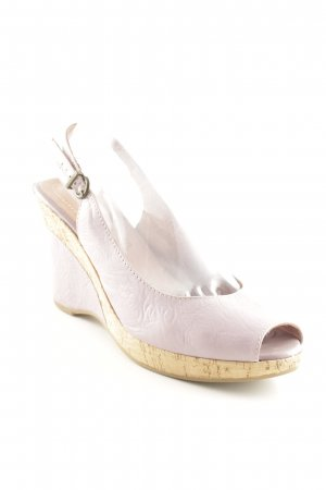 Tamaris Platform High-Heeled Sandal mauve-light brown street-fashion look