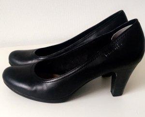 Tamaris Plateauzool pumps zwart