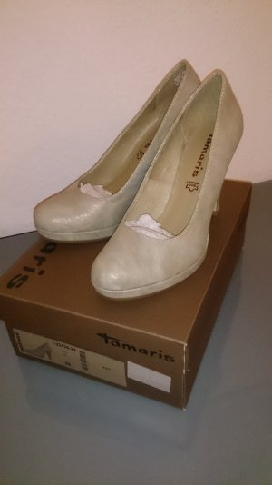 Tamaris Plateauzool pumps veelkleurig