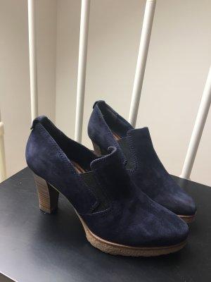 Tamaris Chaussure à talons carrés bleu foncé