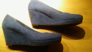 Tamaris Pumps blau Größe 39 fast neu