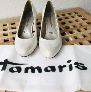 Tamaris Pumps/ Brautschuh Größe 37