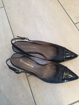 Tamaris Slingback Pumps black