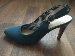 Tamaris Pumps Sandaletten in blau 38