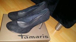 Tamaris Pums silber/schwarz